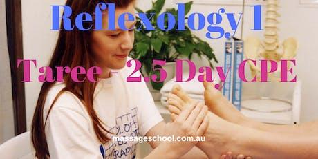 Reflexology 1 - Taree - 2.5 Day CPE Event (21hrs) tickets