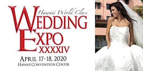 Hawaii World Class Wedding Expo tickets