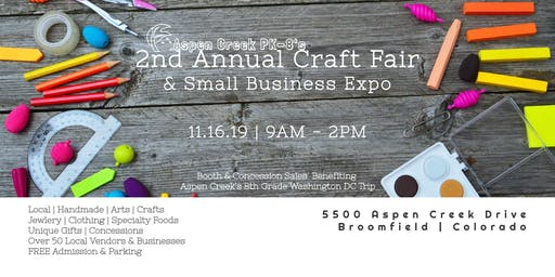 Aspen Creek PK-8's 2nd Annual Craft Fair and Small Business Expo