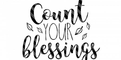 Counting Your Blessings Dinner