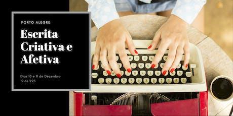 Escrita Criativa e Afetiva ingressos