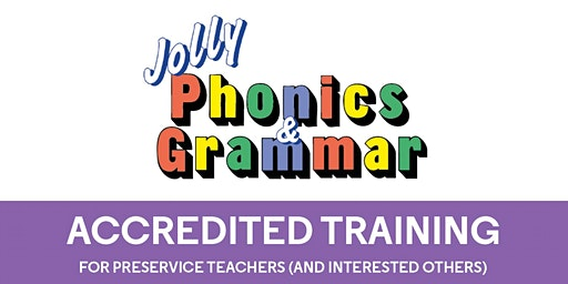 Jolly Phonics & Jolly Grammar Training