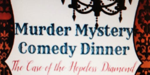 1920s The Hopeless Diamond Comedy Murder Mystery Dinner $45pp