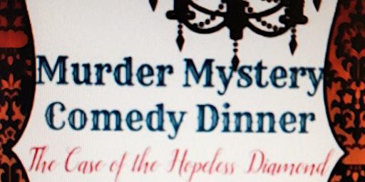 1920s The Hopeless Diamond Comedy Murder Mystery Dinner $45pp