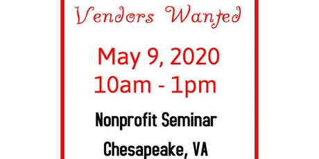 Vendors Wanted - Chesapeake VA tickets