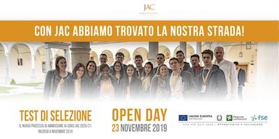 Open Day JAC 23 novembre 2019