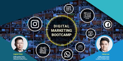 [FREE] 1 Day Digital Marketing Bootcamp @ IskandarSpace Co-Working Space