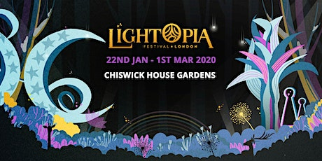 Lightopia Festival London tickets