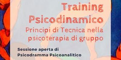 TRAINING PSICODINAMICO Principi di Tecnica nella psicoterapia  di gruppo
