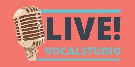 Vocalstudio Live! y open mic Barcelona tickets