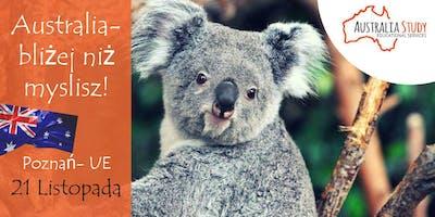 Australia: bliżej, niż myślisz! Wyjedź do Australii z UE Poznań