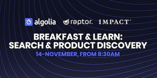 Raptor, Impact & Algolia Breakfast & Learn