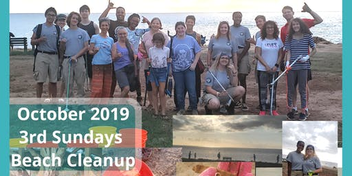 Third SUNDAYS BEACH CLEANUP