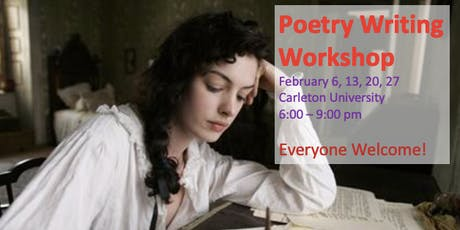 Poetry Writing Workshop tickets