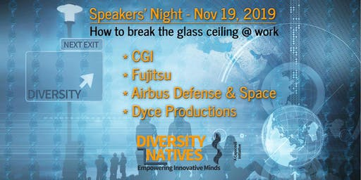 #3 Diversity Natives Speakers' Night @ CGI: Breaking the glass ceiling