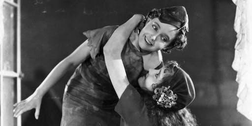 Peter Pan (1924) with live harp accompaniment