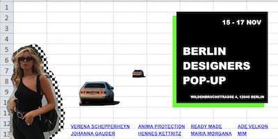 Opening x Berlin Designers Pop-up