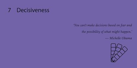 Decisiveness - Professional Workshop billets