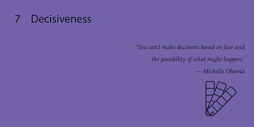 Decisiveness - Professional Workshop