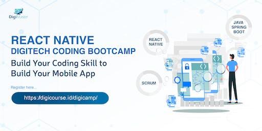 React Native Digitech Coding Bootcamp  2019
