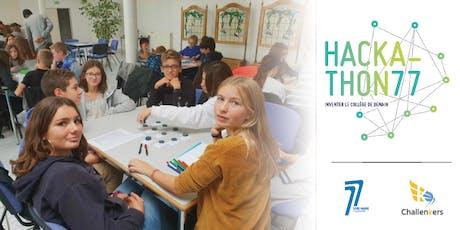 Hackathon 77 - Inventer le collège de demain billets
