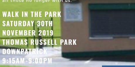 Walk in the Park, RGU Downpatrick tickets