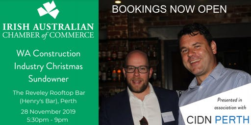 WA Construction Industry Christmas Sundowner