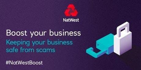 Digital Safety - #NatWestBoost tickets
