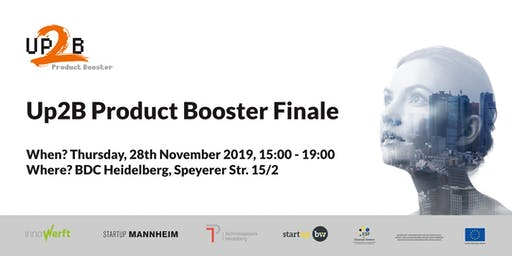 Up2B Product Booster Finale