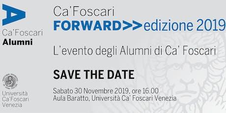 Ca' Foscari Forward 2019 biglietti