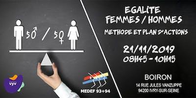 Index de l'égalité femmes-hommes : Méthode et