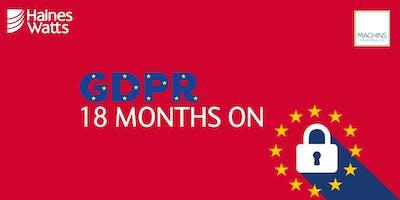 GDPR - 18 Months On