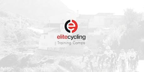 elitecycling pre-season training holiday entradas