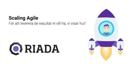 Riada Göteborg Frukostseminarium 10/12 Scaling Agile tickets