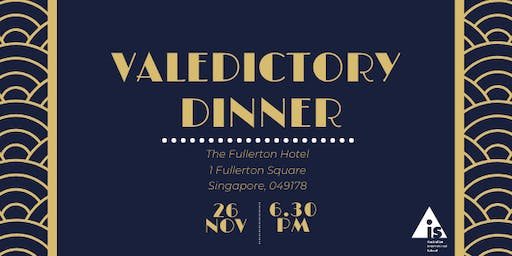 2019 | AIS  | Year 12 Valedictory Dinner