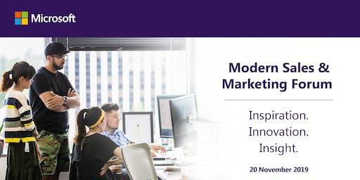 Microsoft Modern Sales & Marketing Forum