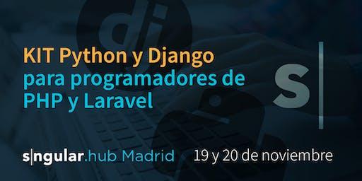 KIT Python y Django para programadores de PHP y Laravel.