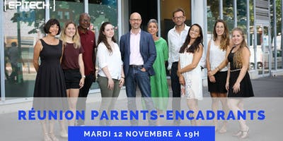 Réunion parents-encadrants