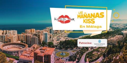 "Grabación ""Las Mañanas KISS"" en Málaga"