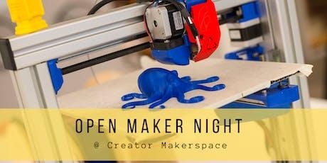 Open Maker Night  tickets