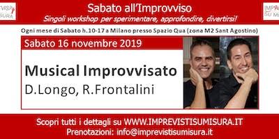 Workshop - Musical e Improvvisazione Teatrale