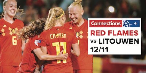 Connections l Belgium Red Flames Vs. Litouwen