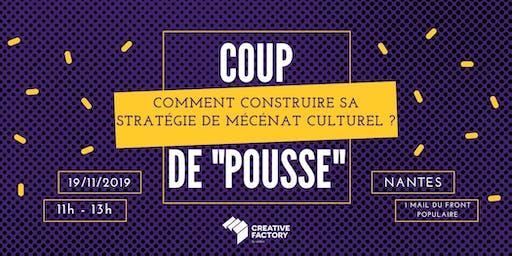 """Coup de """"pousse"""" - Comment construire sa stratégie de mécénat culturel ?"""