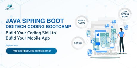 Java Spring Boot Digitech Coding Bootcamp 2019 tickets