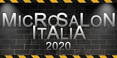 MicroSalon Italia2020 biglietti