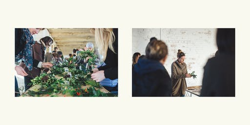 Christmas Wreath Making Workshop w/ Gathered Threads