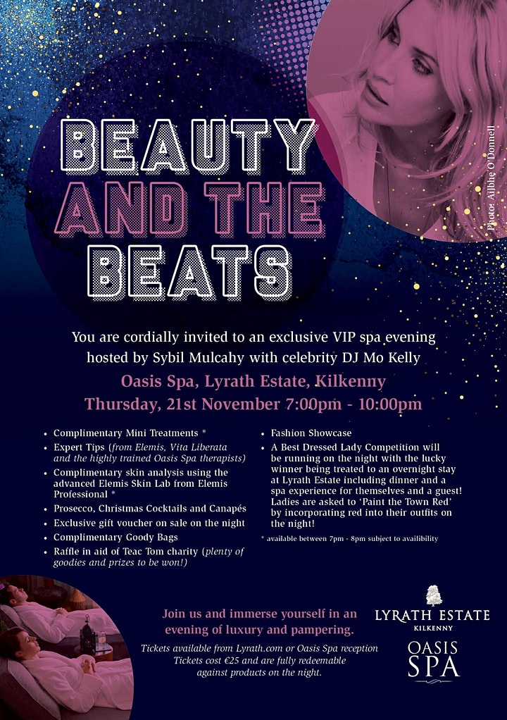 Beauty and The Beats at Oasis Spa image
