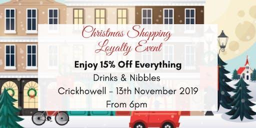 Nicholls Christmas Preview - Crickhowell -13th November