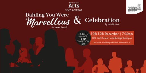 Dahling You Were Marvellous & Celebration