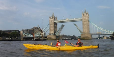 Tower and Return ( Kayaking from Poplar to Tower Bridge and Back). tickets